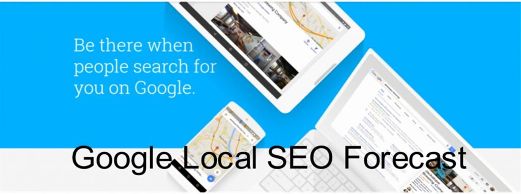 Google Local SEO Forecast