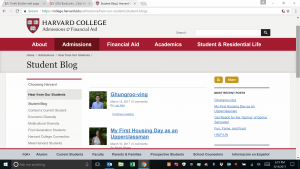EDU Backlinks from College Blog