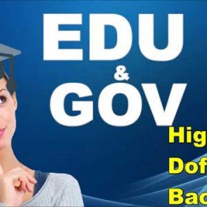 Generate edu backlinks for edu Links