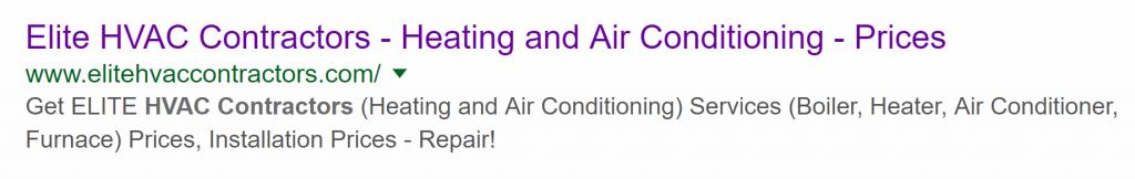 Marketing - HVAC Leads - SEO